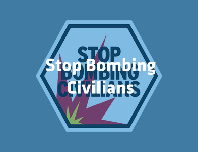 Stop Bombing Civilians!